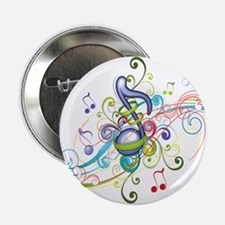 """Music in the air 2.25"""" Button"""