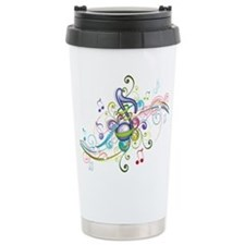 Music in the air Travel Coffee Mug