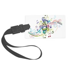Music in the air Luggage Tag