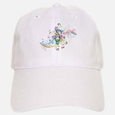 Music in the air Baseball Baseball Cap