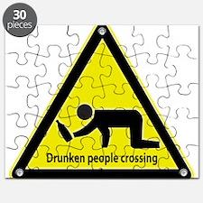 Drunken People Crossing Puzzle