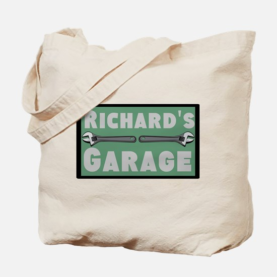Personalized Garage Tote Bag