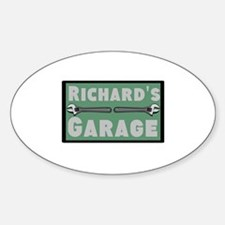 Personalized Garage Decal