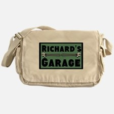 Personalized Garage Messenger Bag