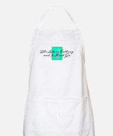 The Lake is Calling and I Must Go Apron