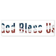 Political God Bless Us Bumper Sticker