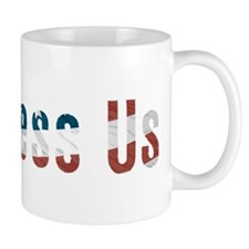 Political God Bless Us Mug