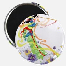 Oriental Girl Magnet