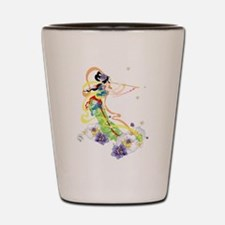 Oriental Girl Shot Glass