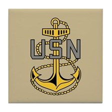 Chief Petty Officer<BR> Tile Coaster 4