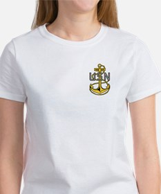 Chief Petty Officer<BR> Women's T-Shirt 4