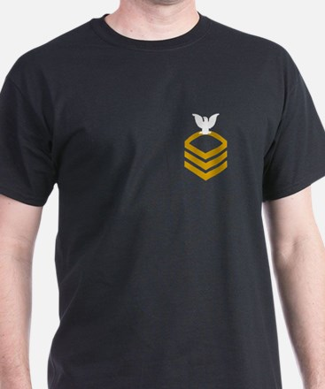 Chief Petty Officer<BR> Black T-Shirt 1