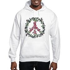 Yule Flower Peace Hoodie