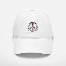 Yule Flower Peace Baseball Baseball Cap