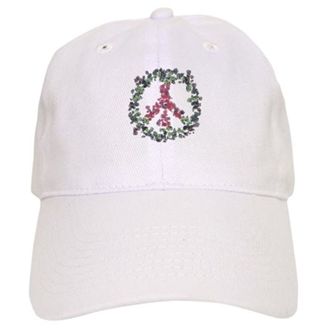 Yule Flower Peace Cap
