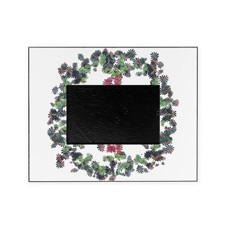 Yule Flower Peace Picture Frame