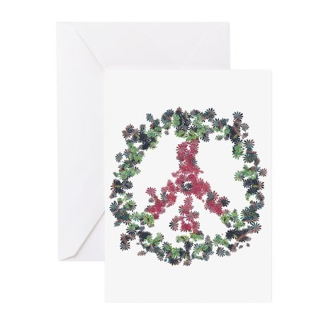 Yule Flower Peace Greeting Cards (Pk of 10)