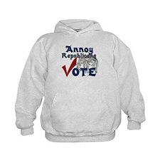 Annoy Republicans - Vote Hoodie