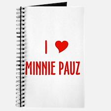I love Minnie Pauz Journal