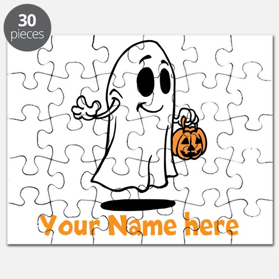 Personalized Halloween Puzzle