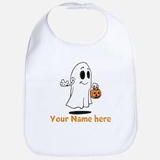Personalized Halloween Bib