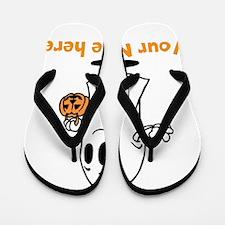 Personalized Halloween Flip Flops