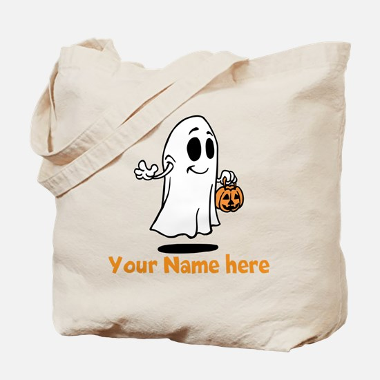 Personalized Halloween Tote Bag