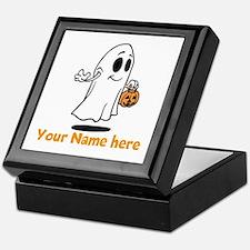 Personalized Halloween Keepsake Box