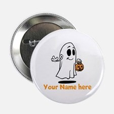 "Personalized Halloween 2.25"" Button (10 pack)"