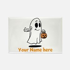 Personalized Halloween Rectangle Magnet