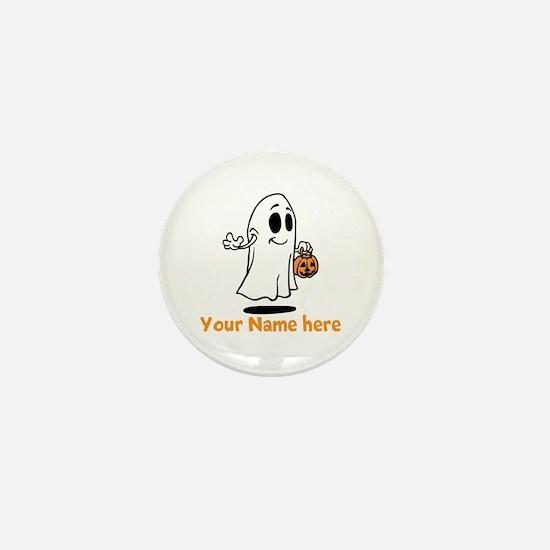 Personalized Halloween Mini Button