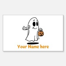 Personalized Halloween Decal