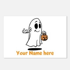 Personalized Halloween Postcards (Package of 8)
