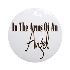 Arms Of An Angel Ornament (Round)