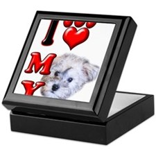 I Love My Schnoodle.png Keepsake Box