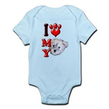 I Love My Schnoodle.png Infant Bodysuit
