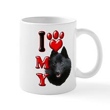 I Love My Schipperke.png Mug