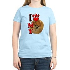 I Love My Pomeranian.png T-Shirt