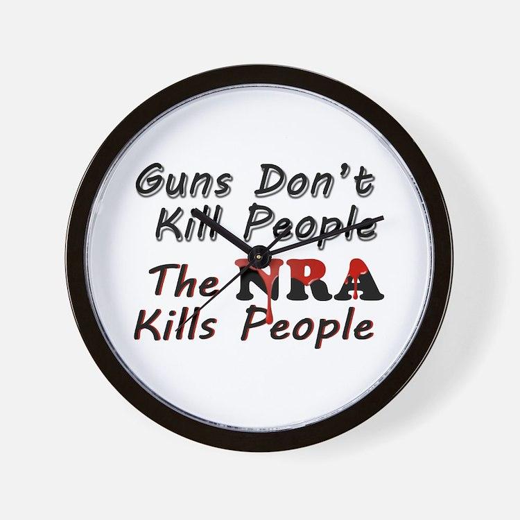 The NRA Kills People Wall Clock