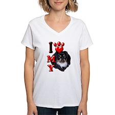 I Love My Pekingnese Black.png Shirt