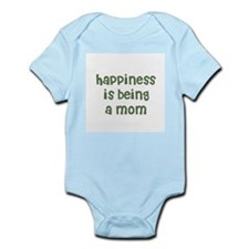 Happiness is being a Mom Infant Creeper