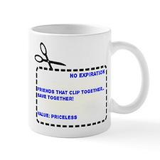 Friends that Clip Together Save Together Mug