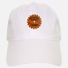 Sawdust in the Morning Baseball Baseball Cap