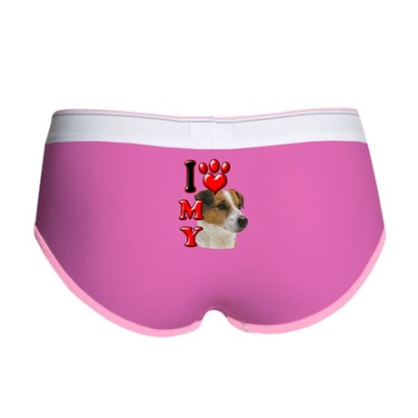 I Love My Jack Russell.png Women's Boy Brief