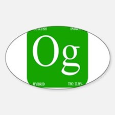 Elements - OG Sticker (Oval)