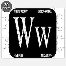 White Widow Black Puzzle
