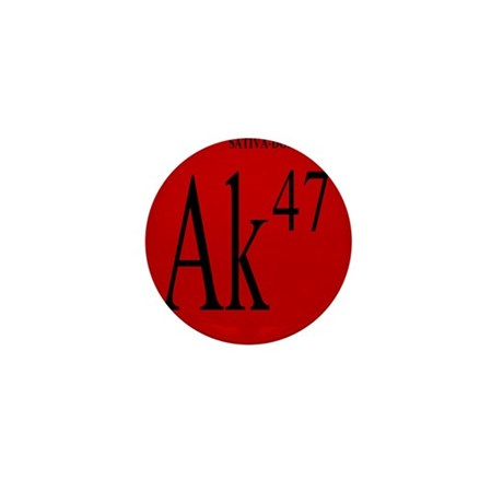 AK-47 BLACK Mini Button (100 pack)