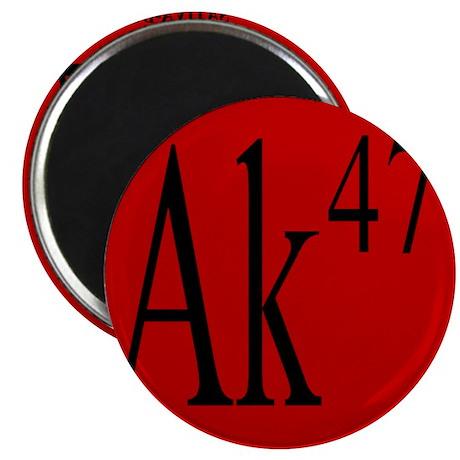 "AK-47 BLACK 2.25"" Magnet (10 pack)"