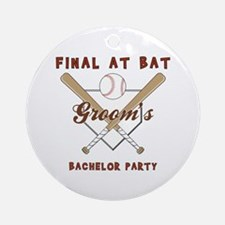 BACHELOR PARTY Ornament (Round)