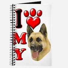I Love My German Shepherd.png Journal